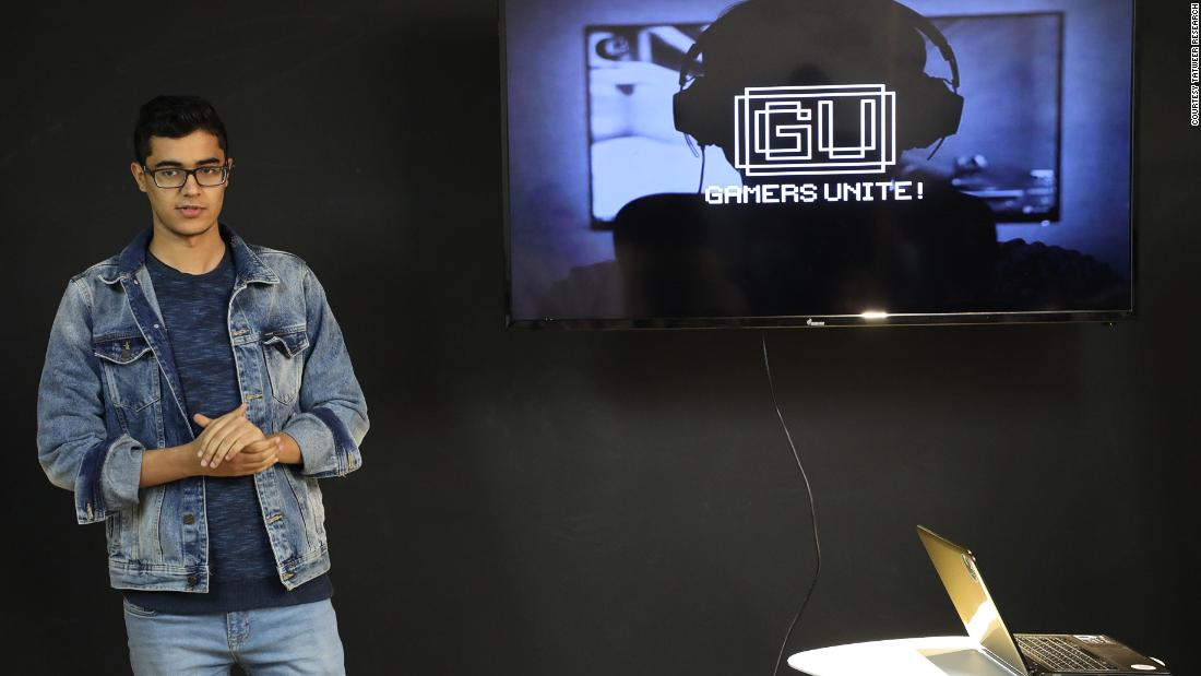 Gamers Unite, co-founded by Salem Ali Elsaih (pictured), is a social platform that encourages gamers from all gaming consoles to compete and interact with one another.