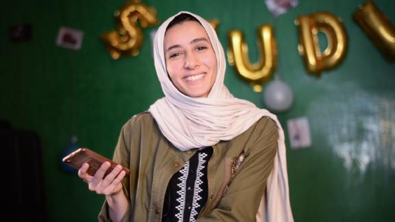 "Fatima Nasser set up the food delivery app Yummy while studying English translation studies at the University of Sabha, Libya. ""Running a business and studying and trying to graduate, it"