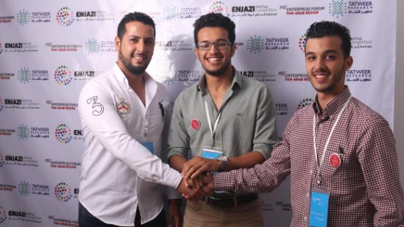 A group of Tripoli-based gamers set up Sinbad, an interactive board game and app that  teaches the basic skills of entrepreneurship and trading. Sinbad was one of three winners -- together with Yummy and Lisan -- of the Enjazi Startup competition, led by Tatweer Research and the MIT Enterprise Forum Pan Arab.