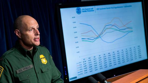 Ronald D. Vitiello, Acting Deputy Commissioner of U.S. Customs and Border Protection (CBP), speaks during a Department of Homeland Security press conference on December 5, 2017 (Photo by Drew Angerer/Getty Images)