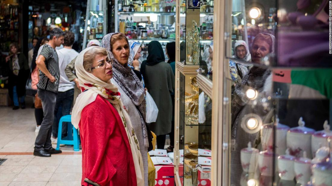 Iranians react to US sanctions as new reality begins to bite