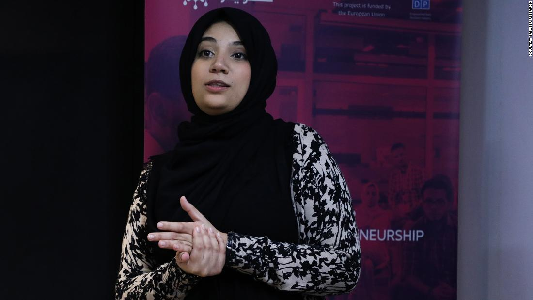 For parents in Libya, a platform called School Connect can prove useful. Co-founded<strong> </strong>by Tafaha Asheed (pictured),<strong> </strong>it allows parents to track, monitor and follow up on their children's progress at school.