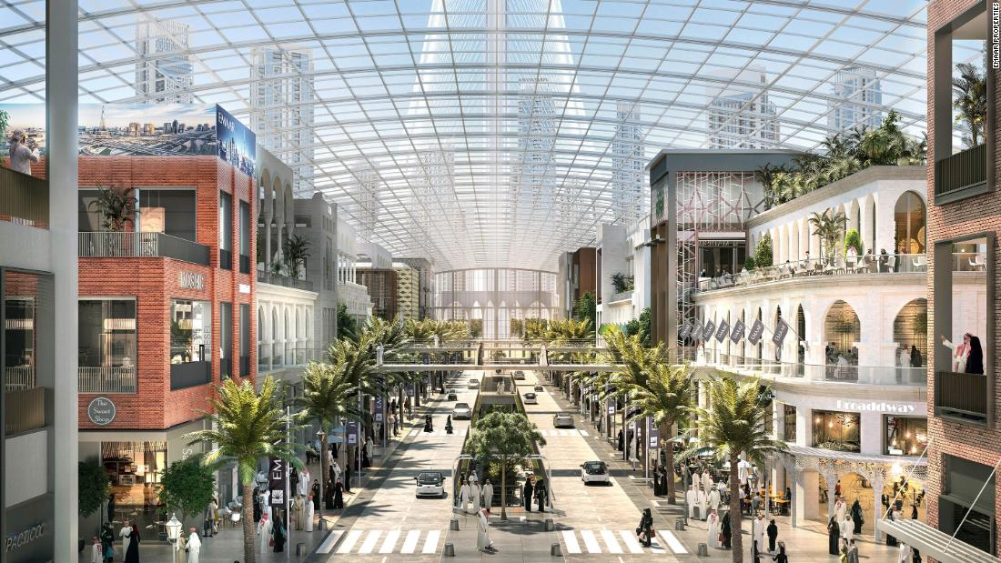 Dubai plans for $2B mega mall