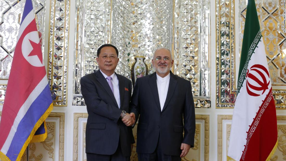 North Korean foreign minister visits Iran