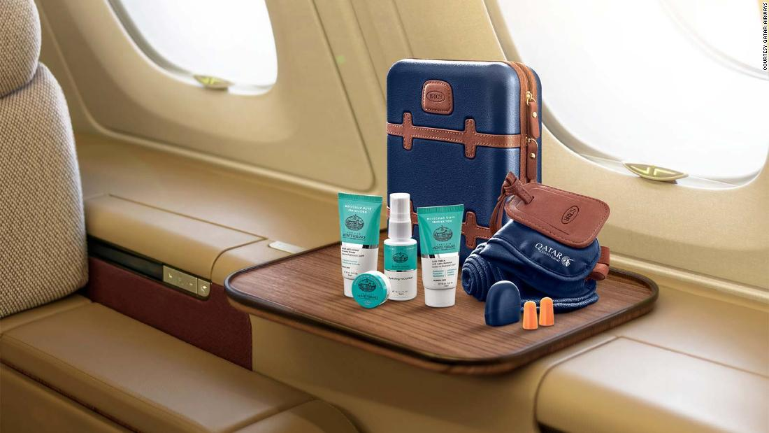 10 of the best airline amenity kits