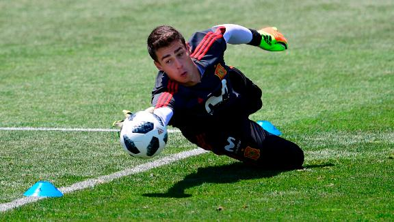 Kepa has made one appearance for Spain.