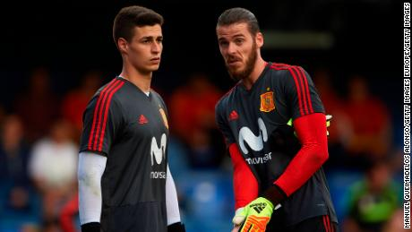 Kepa is behind Manchester United's David de Gea in Spain's pecking order.