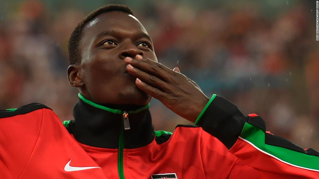 Kenya's former 400m hurdles world champion dies after car crash