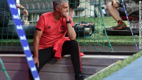 Mourinho's behavior has been described as