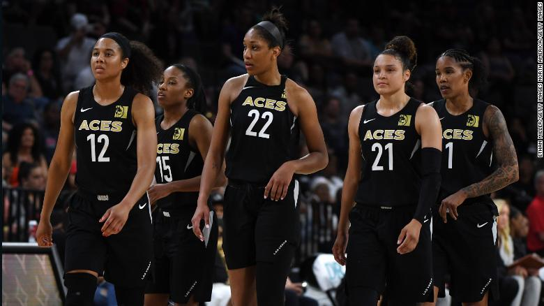 The Las Vegas Aces became the first WNBA team to forfeit a game, after declining to take the court on Friday.
