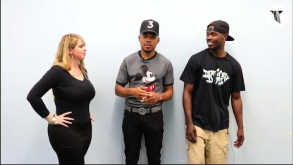 Matt Maxey and DEAFinitely Dope have interpreted for artists such as Chance the Rapper and D.R.A.M.