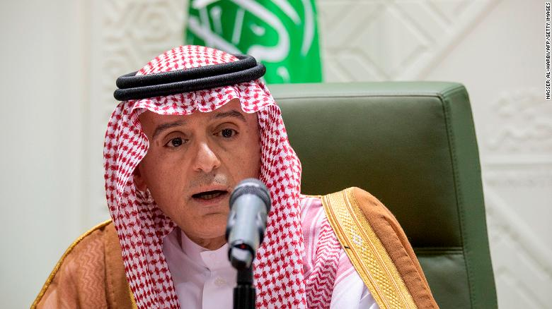 "The Saudi foreign minister said ""Canada has made a mistake and needs to fix it."""