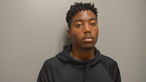 Tyrone McAllister, 18, was arrested on Wedneday.