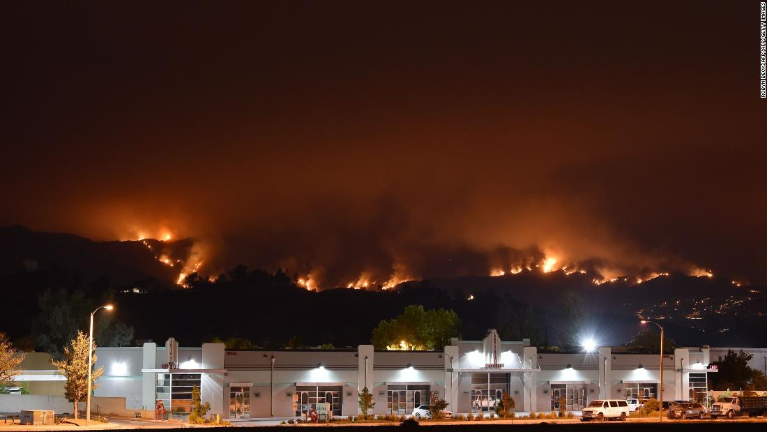 Southern California fire that's putting 20000 people under evacuation orders may have been set intentionally thumbnail