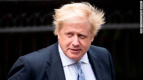 Boris Johnson resigned as Britain's foreign secretary in July.