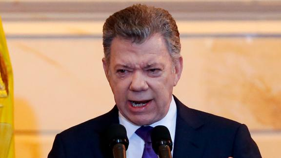 The government of former Colombian president Juan Manuel Santos left office on Tuesday.