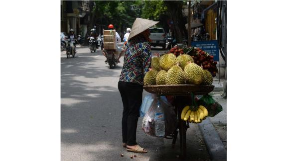 World of durians: Gasik not only tells stories about farmers and vendors, but she also documents durian varieties in delicious detail. Part of her mission, she says, is to hunt down durian varieties that are often overlooked.