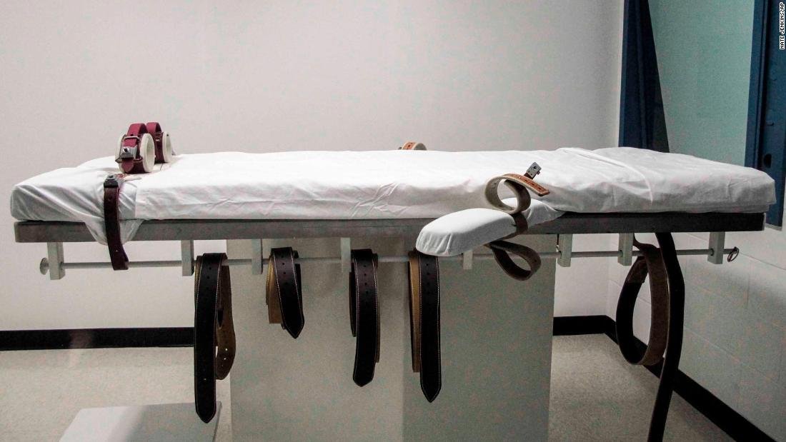 US state's first execution using lethal injection