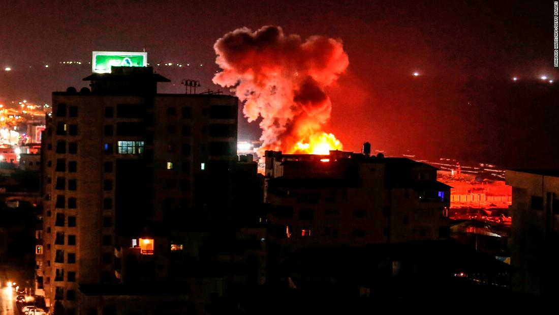 Ceasefire reported after more than 24 hours of hostilities between Israel and Hamas