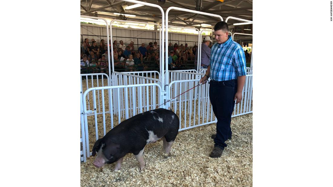 A teen wanted to auction off a pig for a cancer charity. Buyers kept returning it so he could sell it over and over.