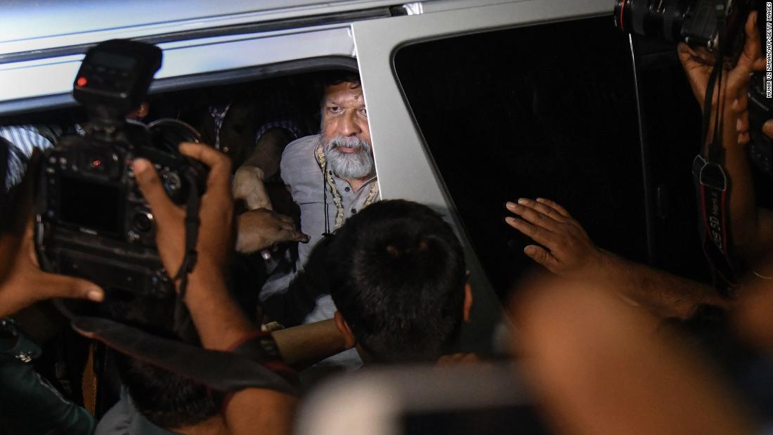 "Shahidul Alam, a prominent human rights activist and photographer, arrives for a court appearance in Dhaka, Bangladesh, on Monday, August 6. Alam was arrested shortly after he gave an interview to Al Jazeera about <a href=""https://www.cnn.com/2018/08/06/asia/bangladesh-student-protests-intl/index.html"" target=""_blank"">the student protests in Bangladesh,</a> saying that they were driven by ""larger"" factors than road safety alone. The Committee to Protect Journalists has since called for Alam's immediate release."