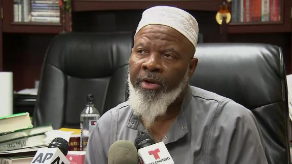 Imam Siraj Wahhaj is the father of Siraj Wahhaj, who was arrested August 3 at a compound.
