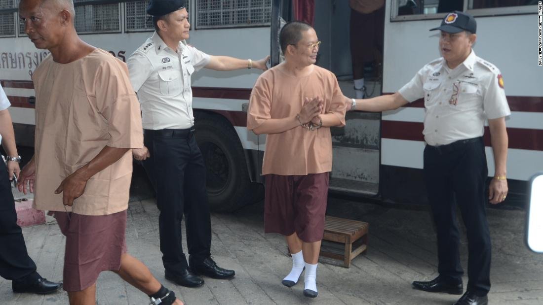 Thai former 'jet set monk' Wiraphon Sukphon given 114-year sentence
