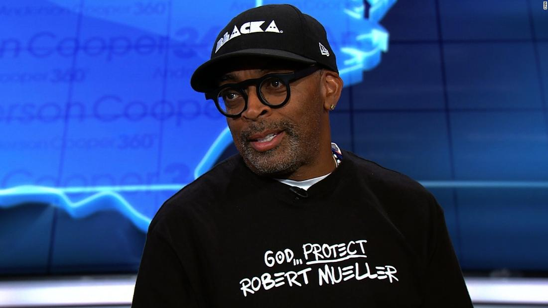 Spike Lee says President Donald Trump is a 'bullhorn' for racism