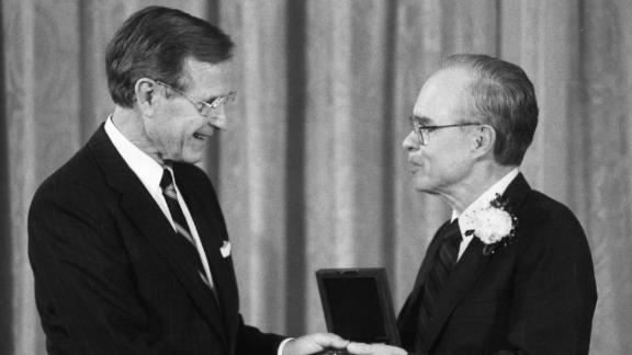Parker received the National Medal of Science in 1991.