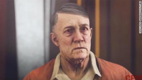 "Hitler's mustache was digitally removed in the German version of ""Wolfenstein II: The New Colossus."""