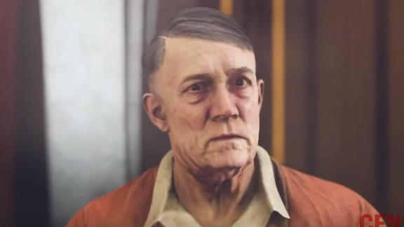 """Hitler's mustache was digitally removed in the German version of """"Wolfenstein II: The New Colossus."""""""