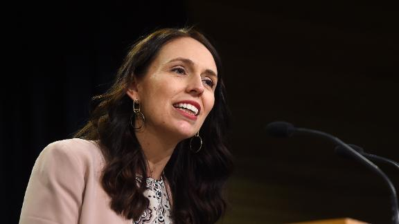 Prime Minister Jacinda Ardern speaks during a press conference at Parliament on August 7, 2018 in Wellington, New Zealand.