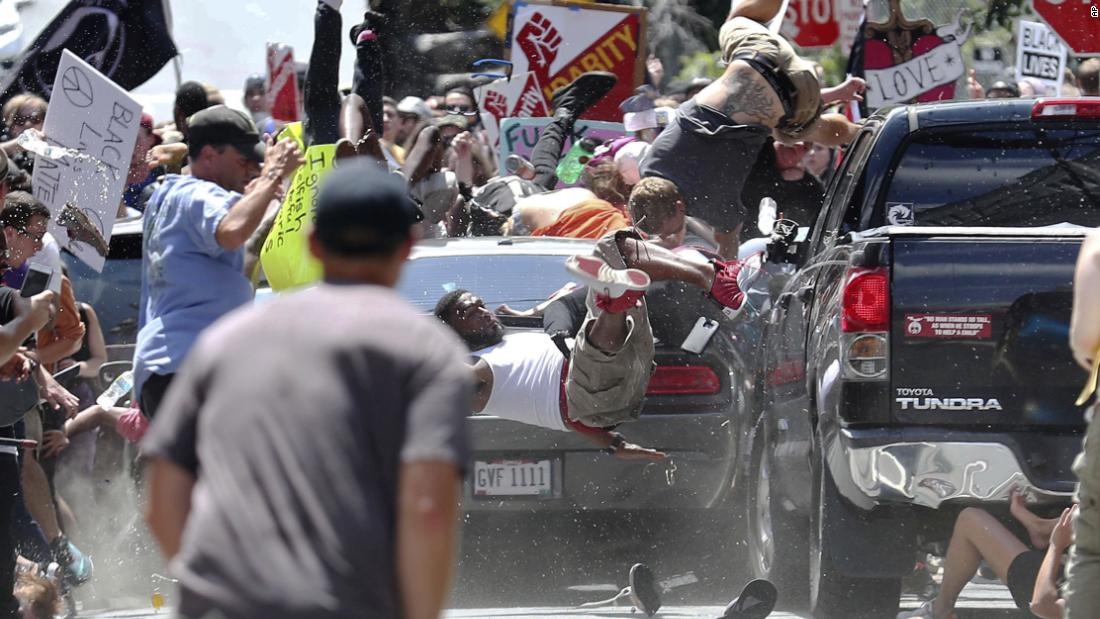 James Fields, who plowed his car through a crowd at 2017 Charlottesville rally, gets second life sentence