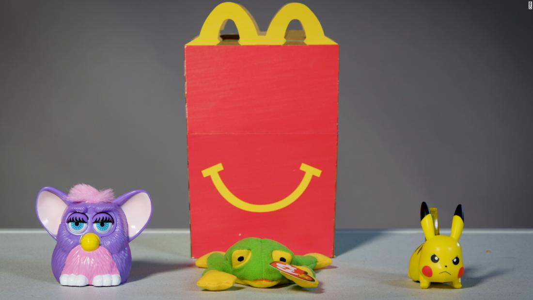 Two girls are petitioning McDonald's and Burger King to scrap plastic toys in kids' meals