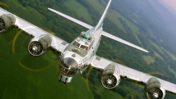 The Sentimental Journey, one of only a few surviving airworthy B-17s.