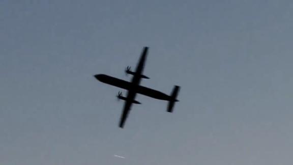 Stolen plane Sea-Tac