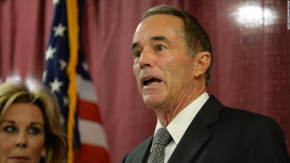Rep. Chris Collins enters not guilty plea to revised indictment