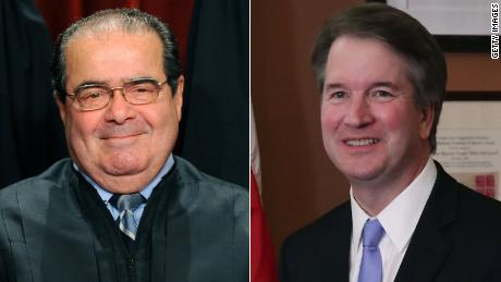 Trump's Supreme Court Select Antonin Scalia & # 39; s; Role model & # 39; and a Justice Hero