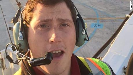New video shows crash site of stolen plane