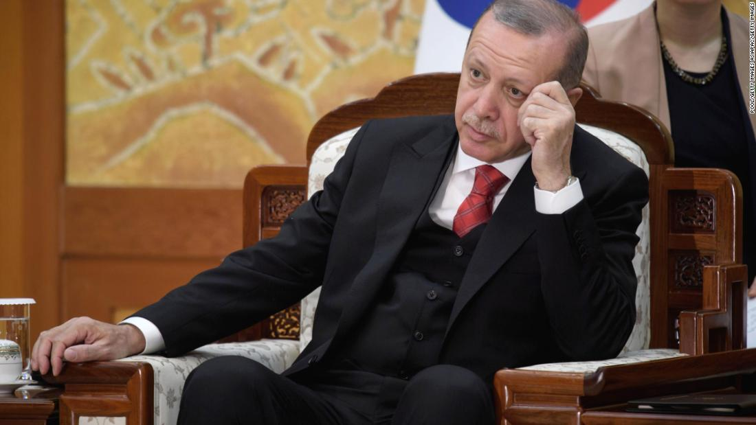 Turkey's Erdogan defiant in the face of US tariffs, sanction threats