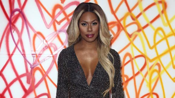 Actress Laverne Cox attends the Champions of Pride hosted by Beverly Center and The Advocate at Farmhouse on June 1, 2018 in Los Angeles, California.