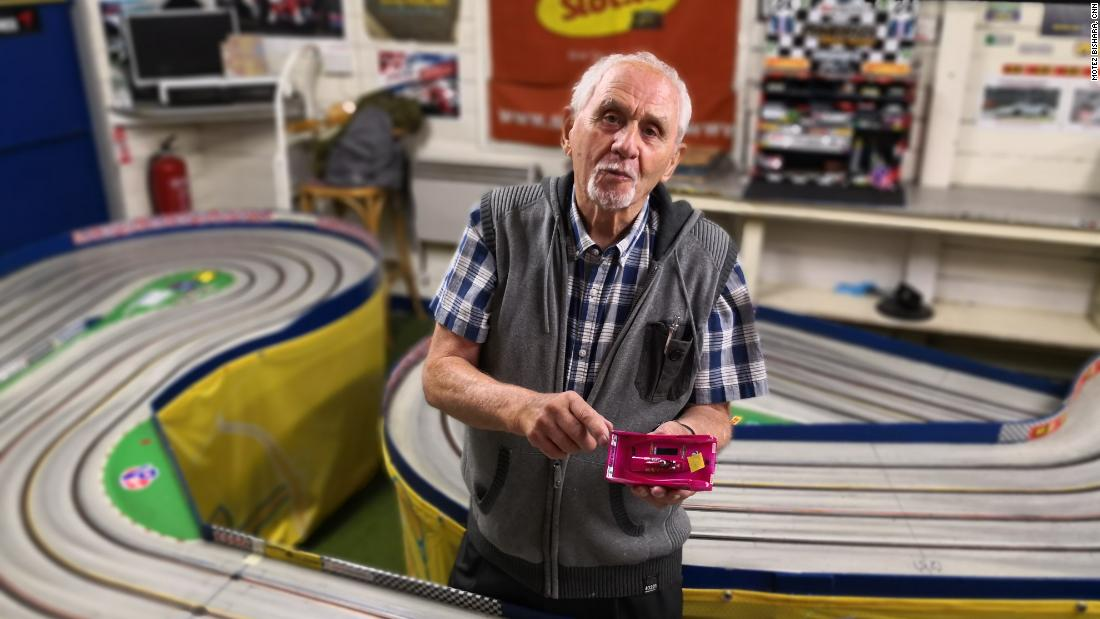 "Londoner John Chance-Reed, 87, is the oldest registered member of the <a href=""http://www.slotcarracing.org.uk/index.htm"" target=""_blank"">British Slot Car Racing Association</a>, a collection of enthusiasts in a sport that saw its heyday in the 1960s."