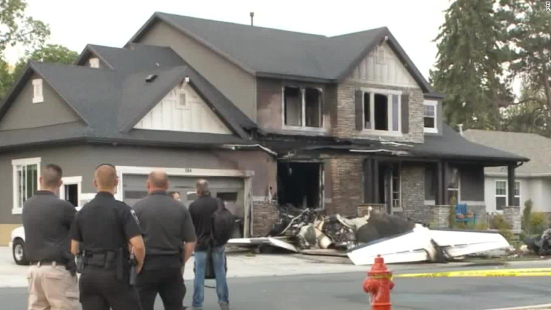 Utah Man Crashes Plane Into His Own Home After Being Arrested On