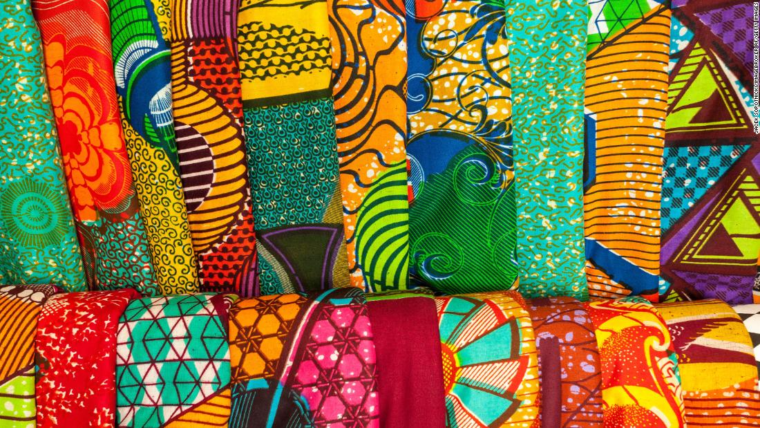 When African fabric isn't actually African