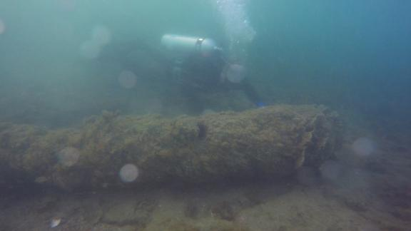 300-year cannon found in FL