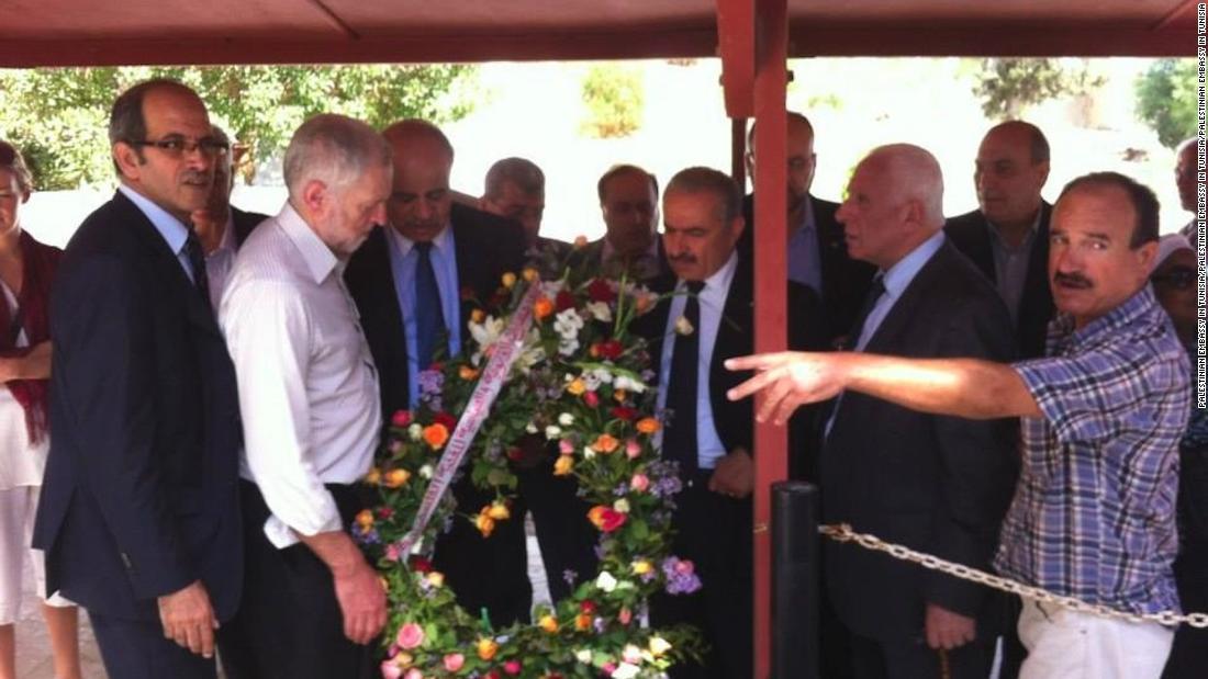 Netanyahu slams UK opposition leader for laying wreath at terrorist grave