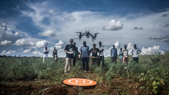 Last year, UNICEF and the Malawian government set up a drone testing corridor in Lilongwe to investigate how drones can be used for humanitarian work.