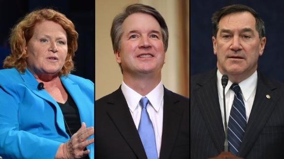 Heitkamp, Kavanaugh and Donnelly