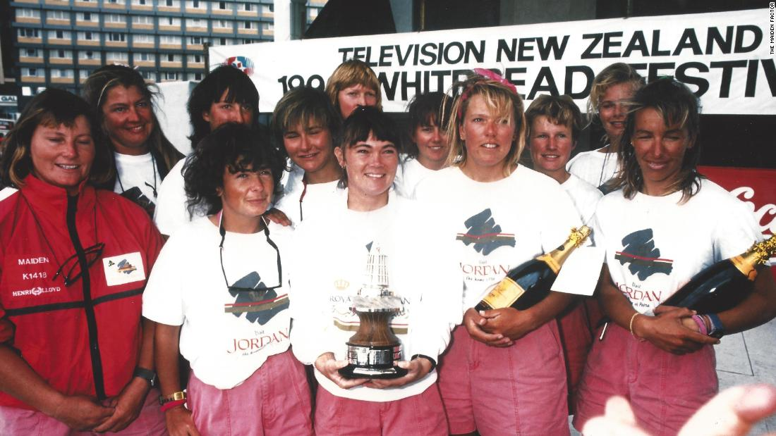 Maiden finished second in its class during the 1989-90 Whitbread -- winning two of the legs. It was the best result for a British boat in 17 years -- and still remains the best result for an all-female crew.