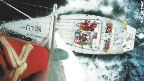 Maiden made history after it finished second in its class during the 1989-90 Whitbread Round the World Yacht Race.